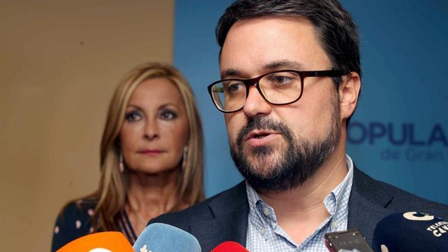 El presidente del Partido Popular de Canarias, Asier Antona. EFE/Elvira Urquijo A.