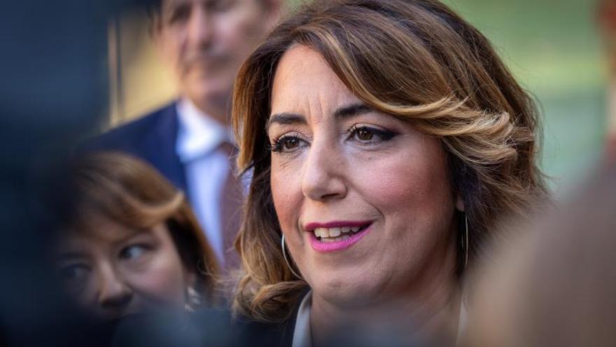 """Susana Díaz critica la """"deslealtad absoluta"""" de Pablo Iglesias con la izquierda"""