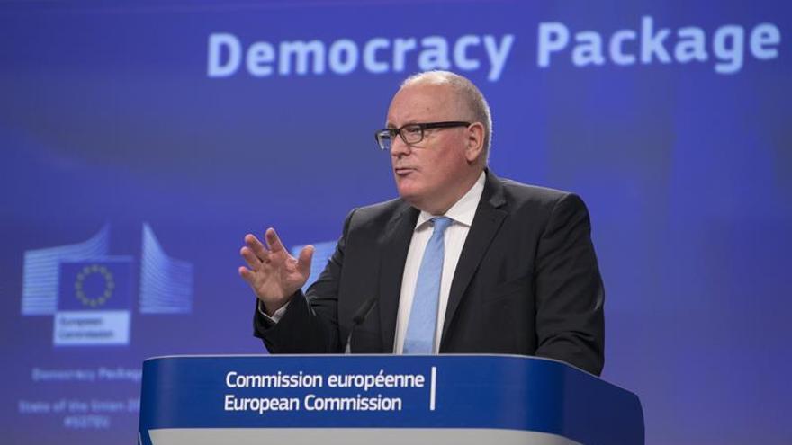 """La CE dice que la Constitución es """"el punto de partida"""" de todo debate"""