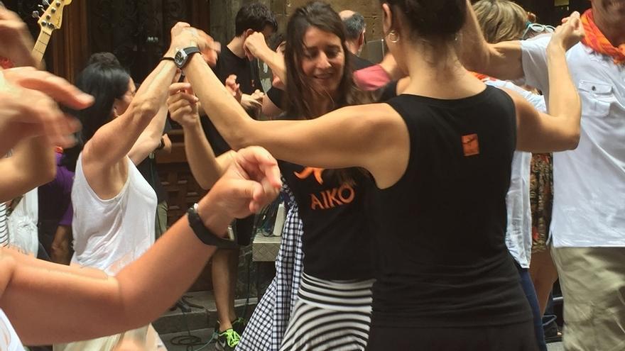 """Aiko Taldea celebrará el próximo viernes un """"dantzapoteo"""" en la Aste Nagusia de Bilbao"""