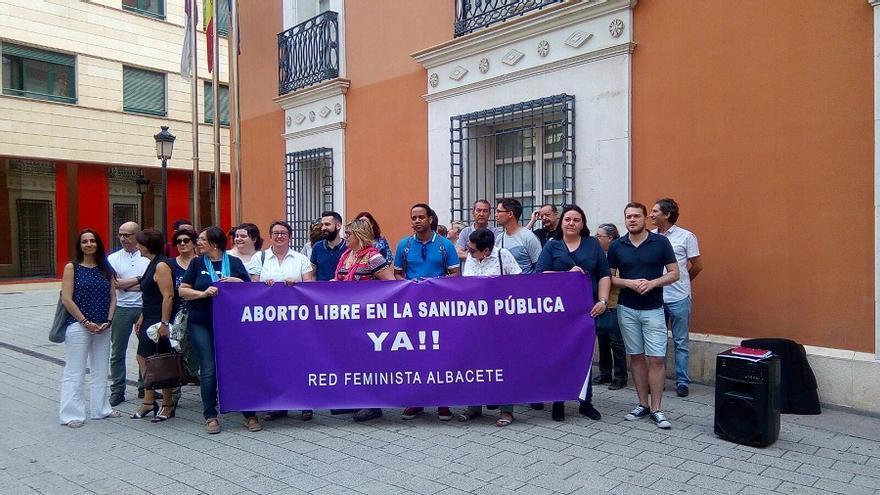 Concentración de la Red Feminista de Albacete / albacetecapital.com