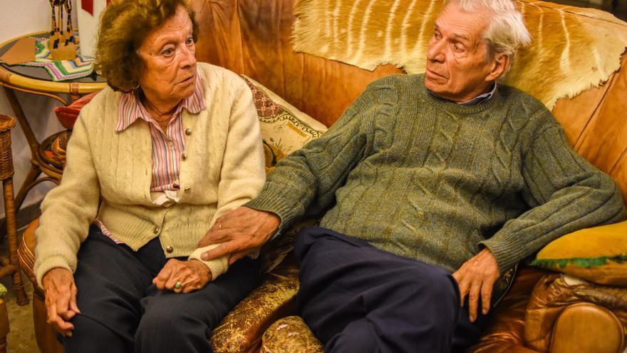 Toti Vega y Paul Mandeville, durante la entrevista | Foto: Miguel Heredia