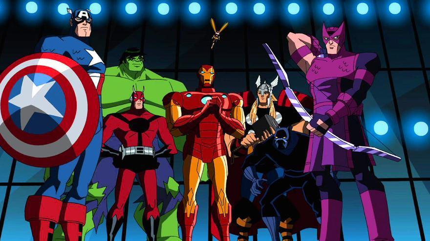 Imagen de la serie The Avengers: Earth's Mightiest Heroes
