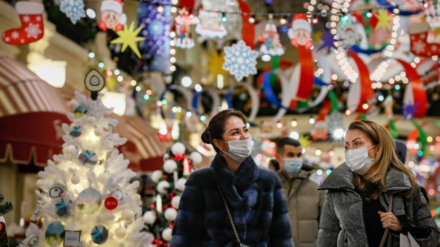 Christmas season amid Covid pandemic in Russia