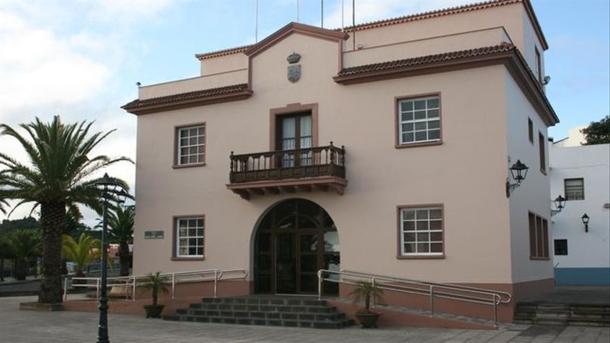 Edificio del Ayuntamiento de Barlovento.