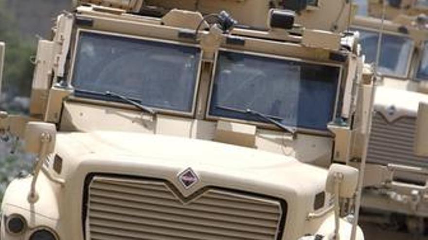Las fuerzas de la ISAF en Afganistán