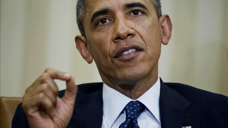 """Obama reitera al Congreso que """"no es momento"""" de nuevas sanciones contra Irán"""