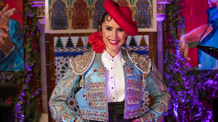 Virginia Díaz en 'Cachitos Copla'