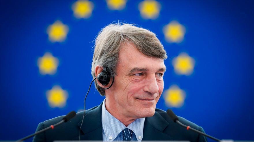 El presidente del Parlamento Europeo, David Sassoli,