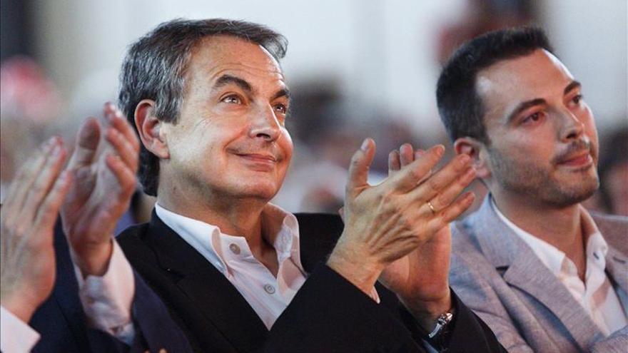 """Zapatero dice que """"el PSOE es un partido de gobierno"""" y que """"otros solo quieren influir"""""""