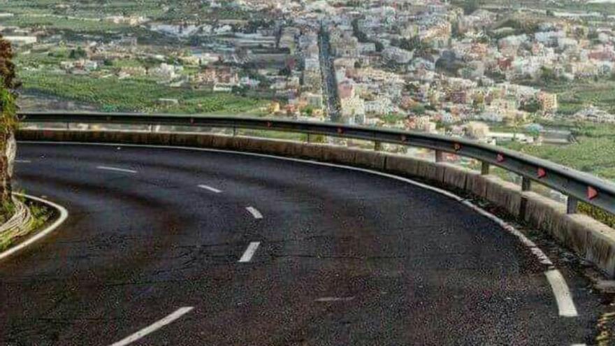 Carretera de El Time.