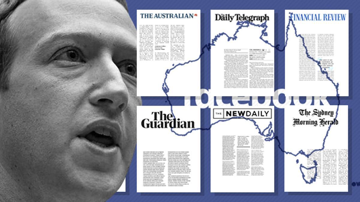 El caos total de Facebook y Australia