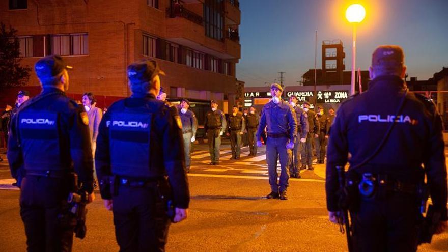 La Policía Nacional rinde homenaje a dos policías muertos en Ceuta