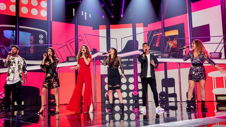 Los finalistas de Operación Triunfo 2017 en la gala 12