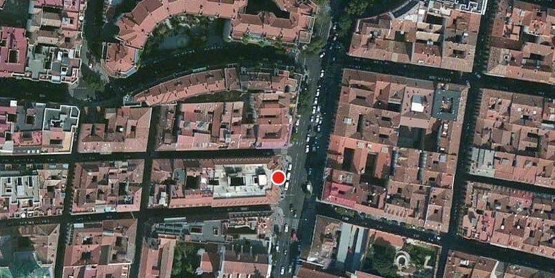 Lugar del suceso, en el 83 de San Bernardo | SOMOS MALASAÑA