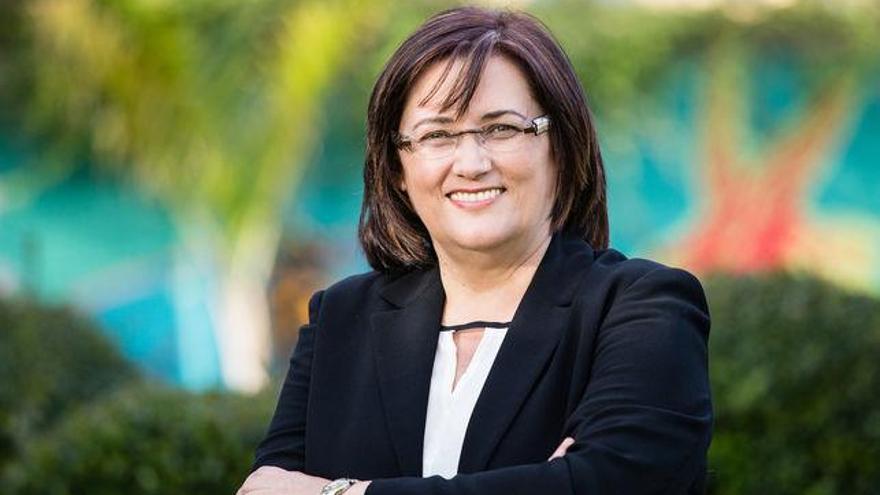 Guadalupe González Taño, primera teniente alcalde y concejal de Cultura y Fiestas del Ayuntamiento de Santa Cruz de La Palma.