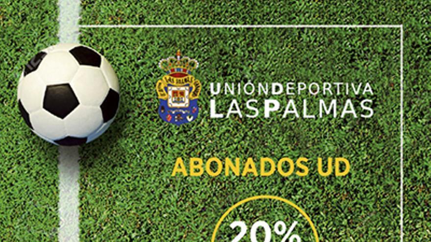 Promoción del Teatro Cuyás para los abonados de la UD Las Palmas.