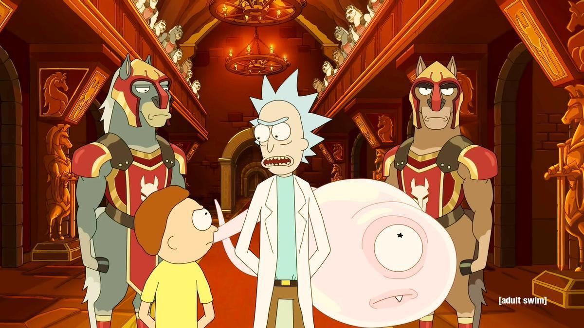 Imagen de la quinta temporada de 'Rick y Morty'