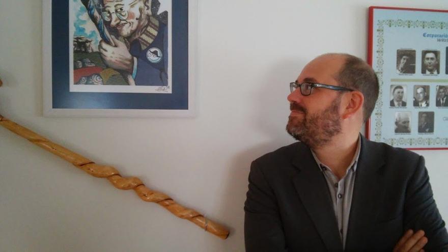 Martiño Noriega, alcalde de Teo y coordinador nacional de Anova