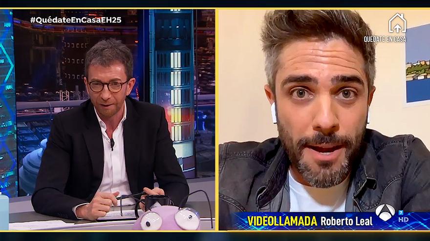 """La aplaudida respuesta de Roberto Leal a Pablo Motos: """"El acento no tiene que ver con la dicción"""""""