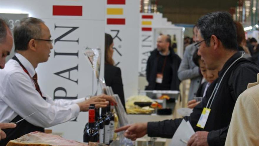 España exporta a Japón alimentos y bebidas por 747 millones de euros