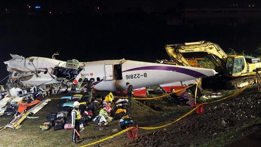Los dos motores del avión de TransAsia fallaron antes de estrellarse
