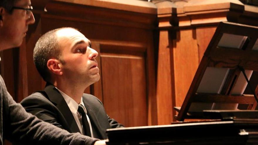 """Juan de la Rubia: """"El organista toca un instrumento histórico y le da vida"""""""