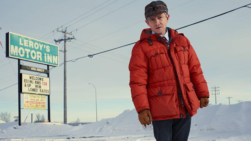 Lester Nygaard, el color naranja y la nieve de Minnesota