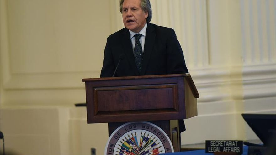 """Almagro propone una OEA """"ágil, eficiente"""" y que integre a Cuba"""