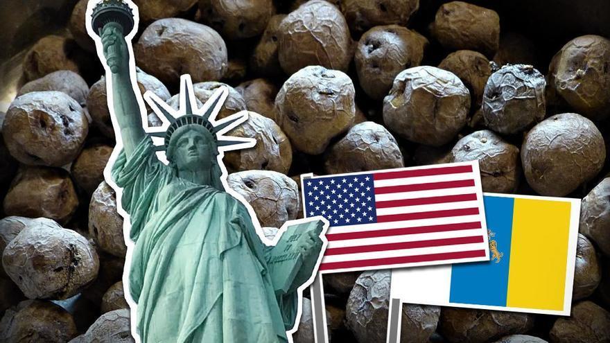 Una visita a Estados Unidos con sabor canario. (CA).
