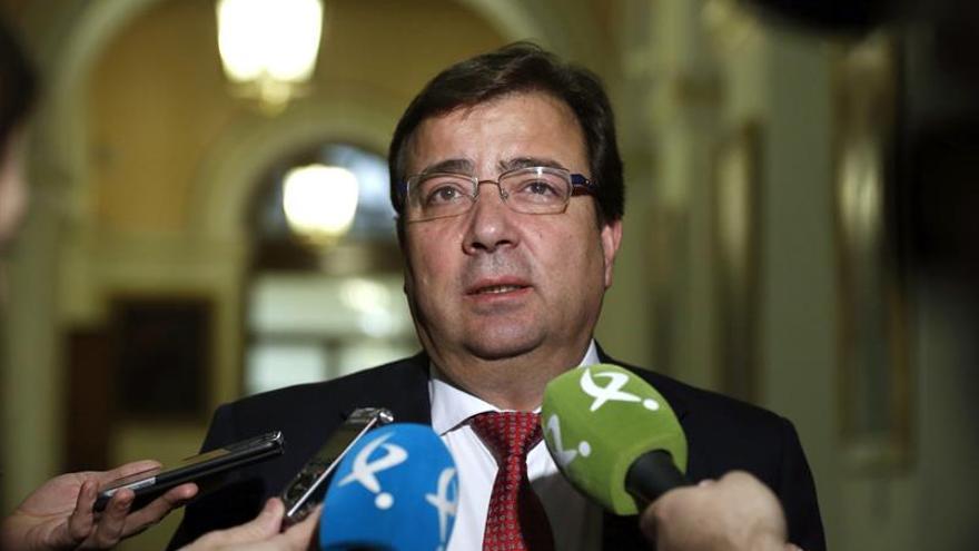 Vara: Me gustaría que Rajoy hiciera en Extremadura algo como lo de Cataluña