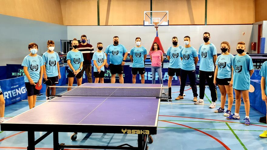 El proyecto Mini Spin de la Real Federación Española de Tenis de Mesa arranca en La Palma