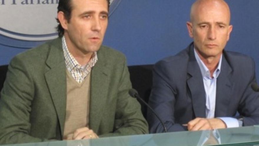 José Ramón Bauzá y Antoni Pastor