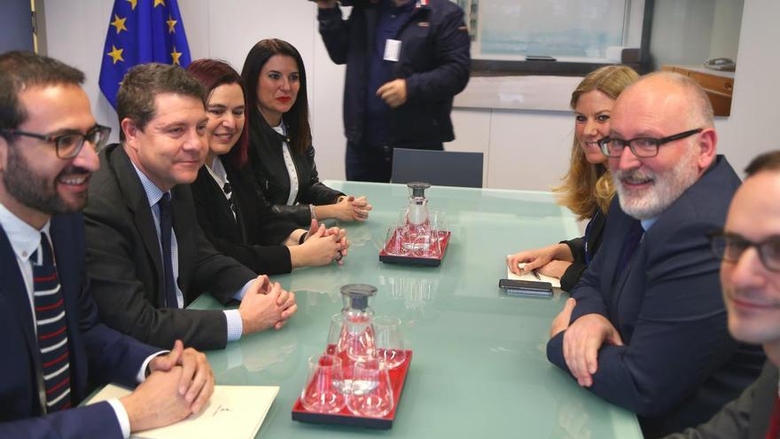 Reunión en Bruselas / JCCM