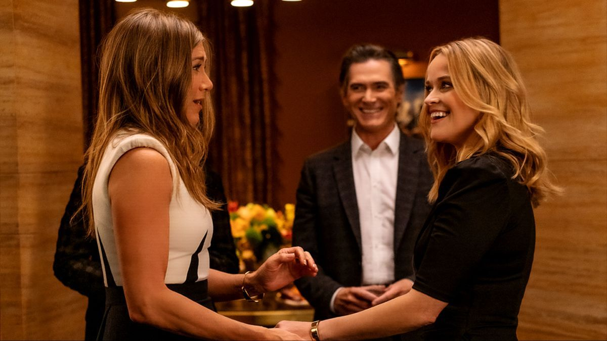 Jennifer Aniston y Reese Witherspoon, en la segunda temporada de 'The Morning Show'