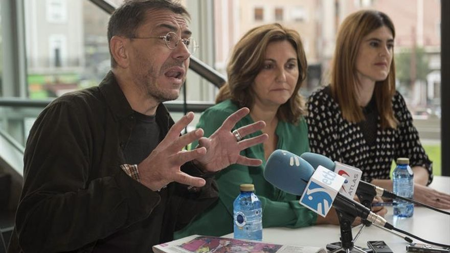 Monedero:afirmaciones de PP sobre Cataluña recuerdan a justificaciones del 36