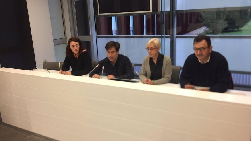 EH Bildu, Podemos, Ezker Anitza y Equo piden la paralización de la adjudicación de la incineradora y llaman al diálogo