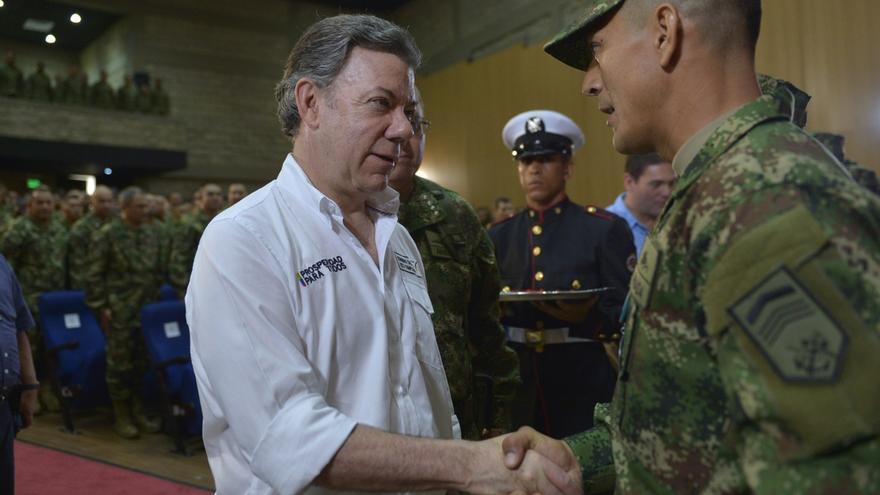 El presidente de Colombia iniciará mañana en España una gira europea en busca de fondos para la paz