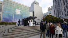 Apple se estrena en el Dow Jones de Industriales