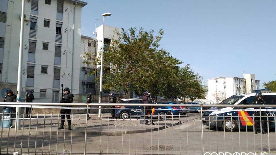 Redada de la Policía Nacional en el Sector Sur en una imagen de archivo.