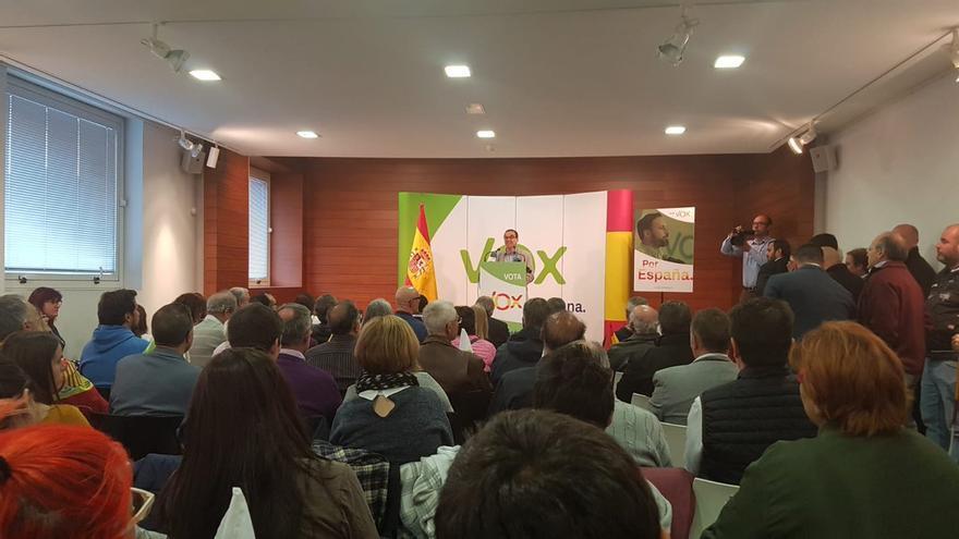 Acto de Vox en Sentmenat (Barcelona)