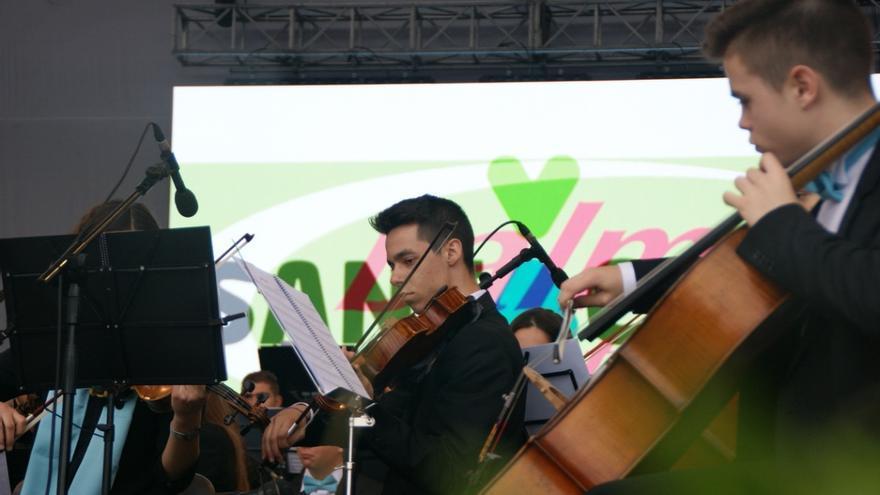 Músicos de la Orquesta Filarmónica Juvenil Miguel Jaubert