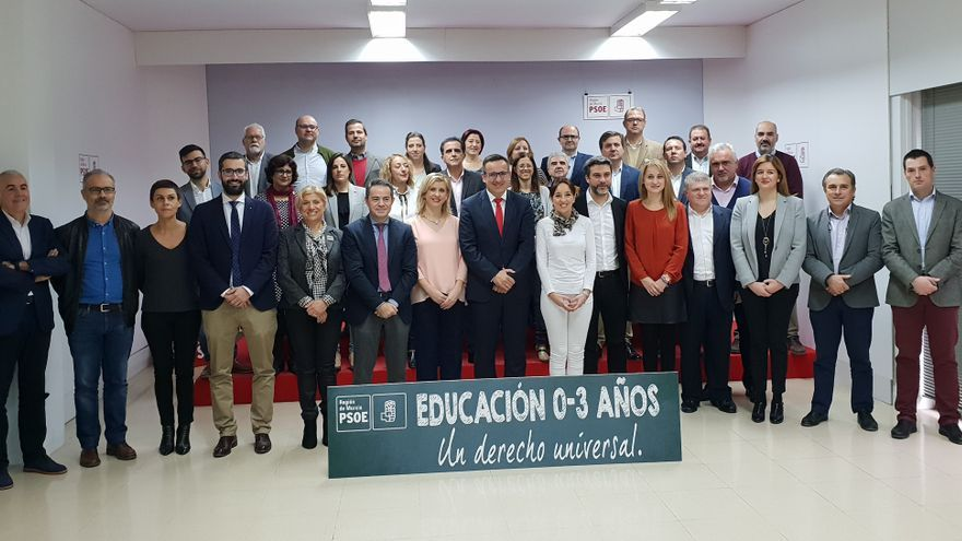El PSRM quiere que la educación infantil sea un derecho universal en la Región de Murcia