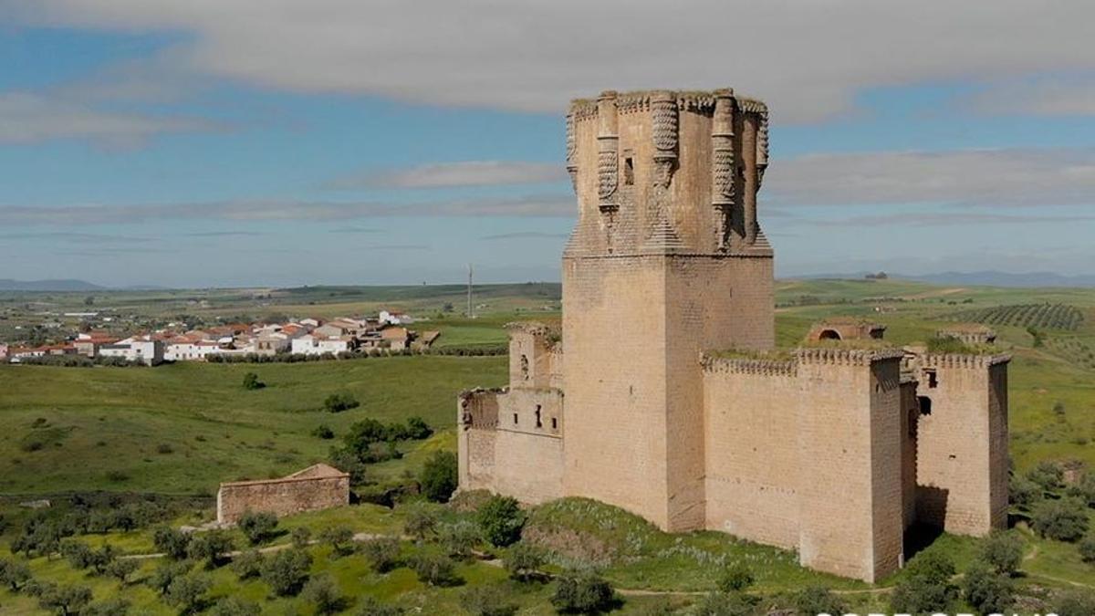 Castillo de Belalcázar, en la comarca de Los Pedroches.