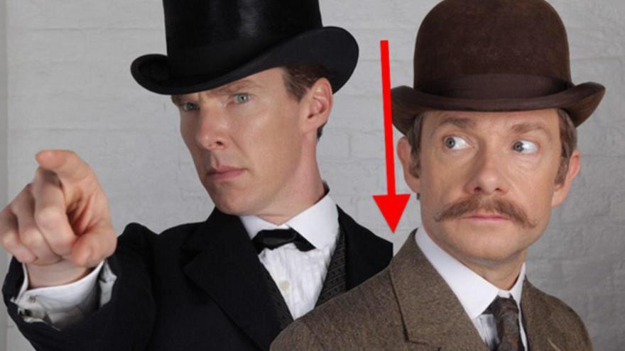 Primera imagen que distribuyó la BBC, con el fallo de edición (vía BuzzFeed)