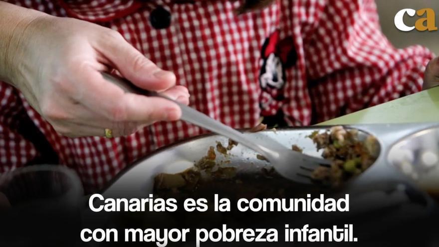 La crisis de los comedores escolares de Canarias, en menos de un minuto