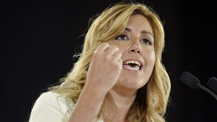 Arranca el debate de investidura de Susana Díaz como presidenta de Andalucía