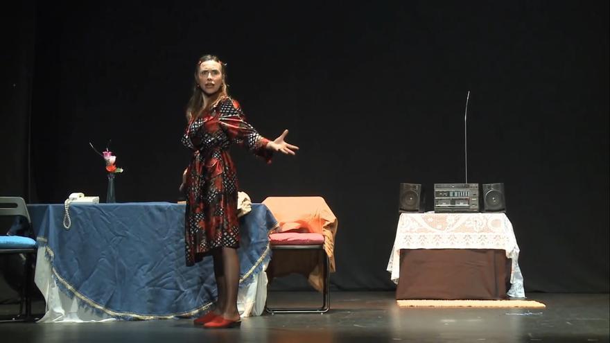 El monólogo 'La mujer sola', de Franca Rame y Darío Fo, interpretado por Ana Plaza
