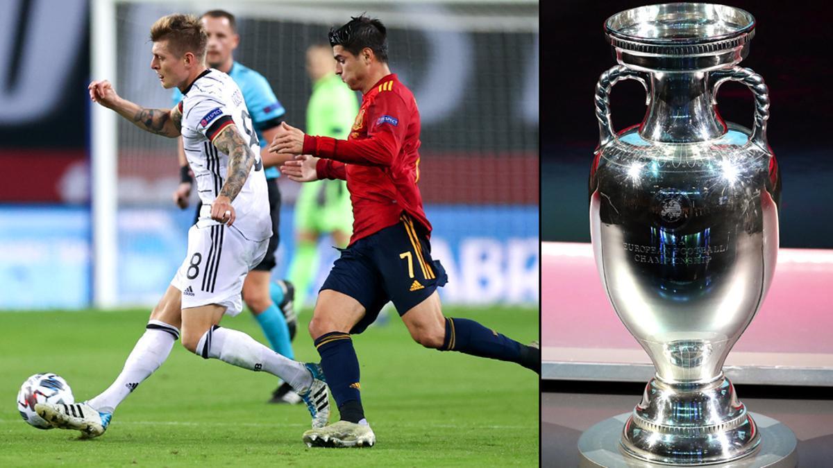 Kroos y Morata, dos de los jugadores que disputarán la Eurocopa