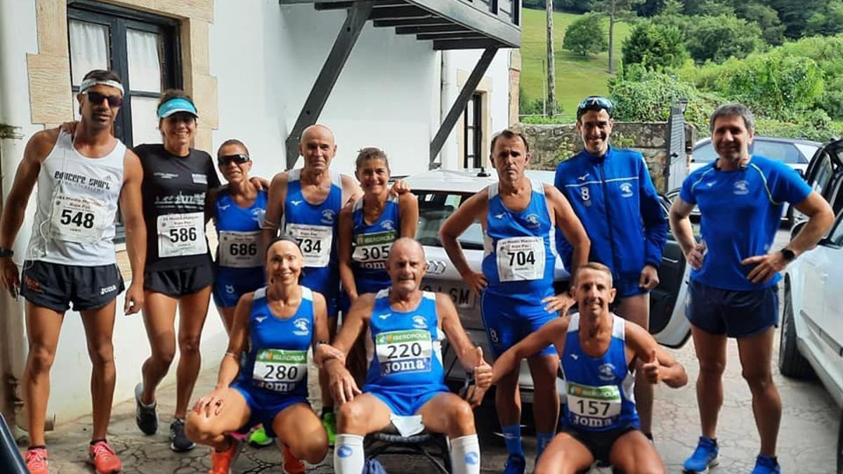 Equipo del Atletas 97 desplazado a Cantabria.